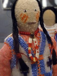 Stoney beaded doll